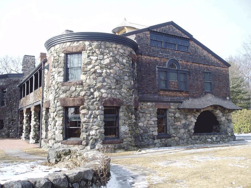 1886 Richardsonian Romanesque In Waltham Massachusetts
