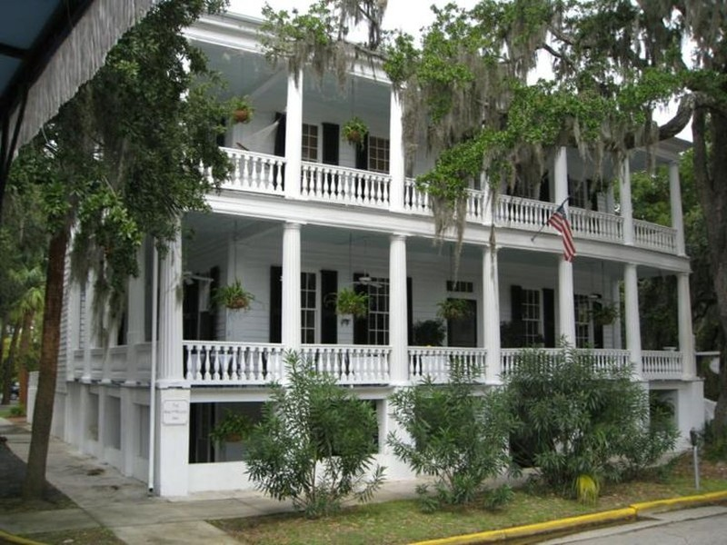 C 1800 greek revival in beaufort south carolina for Beaufort sc architects