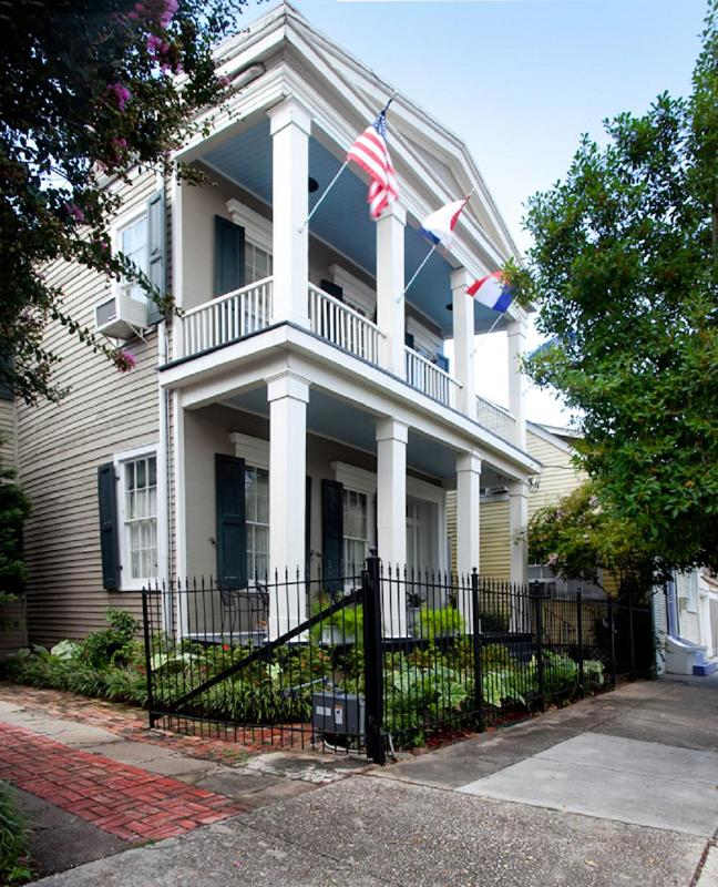Front View 1848 Greek Revival in New
