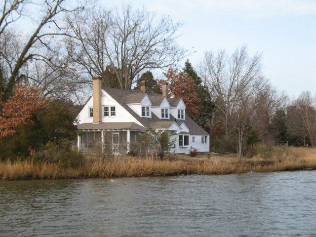 View of House from the North River