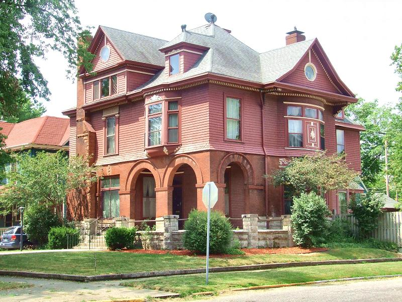 Romanesque Revival In Terre Haute Indiana Oldhouses Com