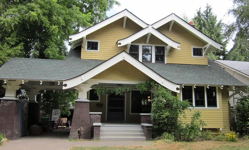 1912 Craftsman Bungalow In Portland Oregon Oldhouses Com