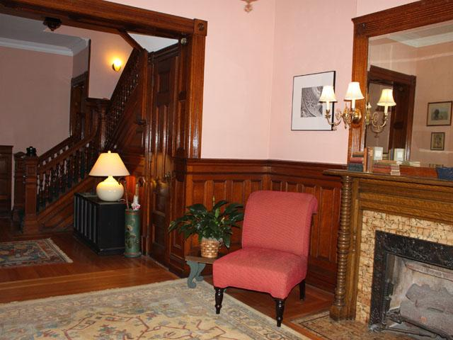 House Foyer Xl : Brownstone row house in troy new york oldhouses
