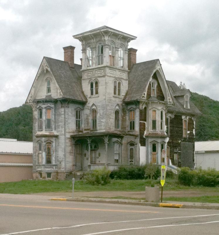 1875 italianate in coudersport pennsylvania for Italianate homes for sale