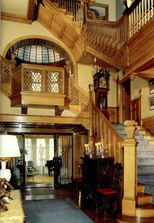 Mansion Foyer Xl : Richardsonian romanesque in south bend indiana
