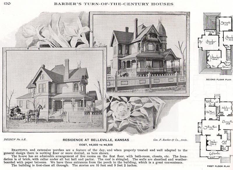 1894 Victorian: Queen Anne in Belleville, Kansas - OldHouses.com