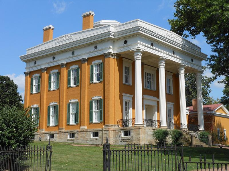Excellent 1844 Greek Revival In Madison Indiana Oldhouses Com Download Free Architecture Designs Scobabritishbridgeorg
