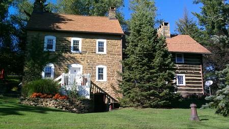 1792 Stone/log home photo