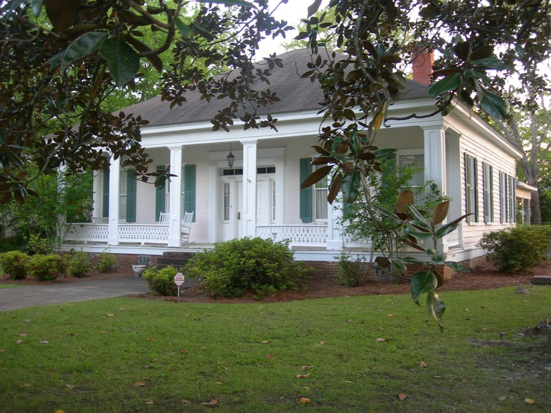 C 1884 Greek Revival In Cuthbert Georgia Oldhouses Com