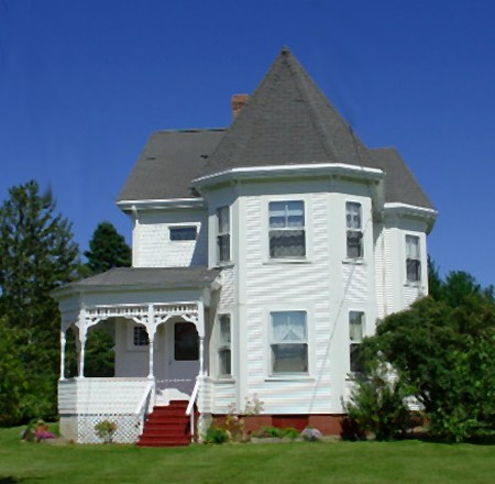 Lubec Victorian - Former Light Keeper's Home