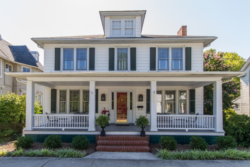 1918 Colonial In Centreville Maryland Oldhouses Com
