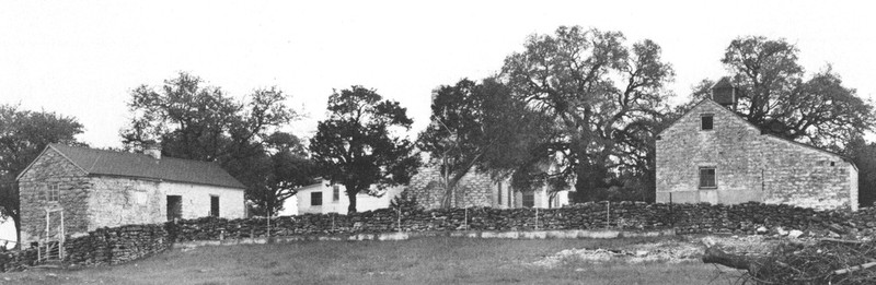 The Kari and Sedsel Questad Farm, constructed between 1855 and 1870 in Bosque County,Texas.