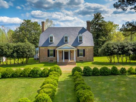 1740 Tidewater Farmhouse w/ clipped gables photo
