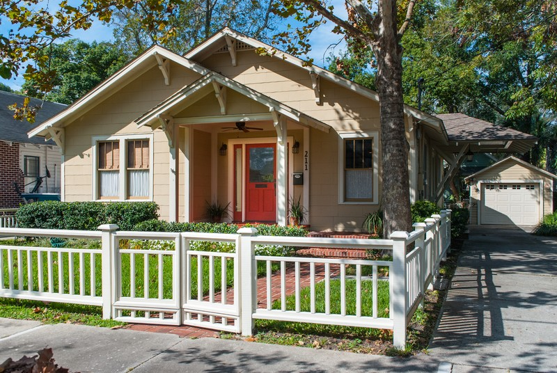 1934 arts crafts craftsman in fernandina beach for Craftsman homes for sale in florida