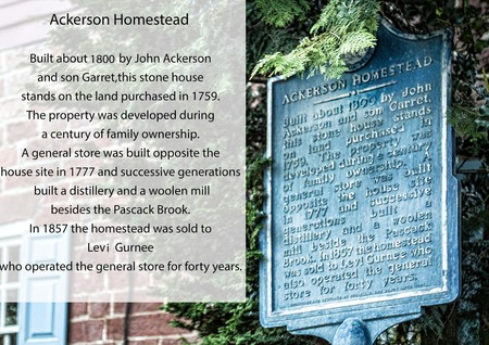 Ackerson House historic information