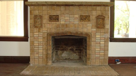 Original Fireplace with Rook images