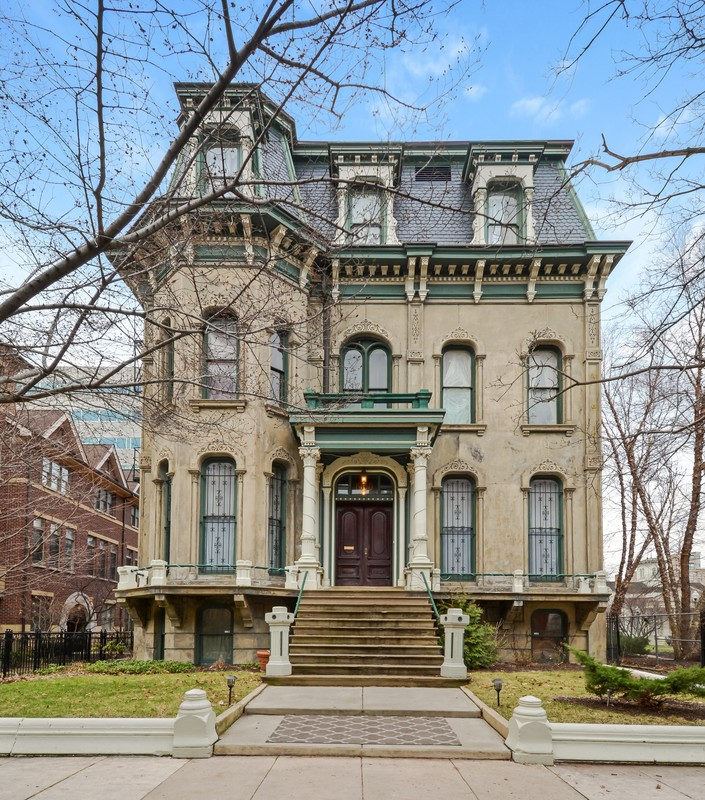 1870 Victorian Second Empire In Chicago Illinois