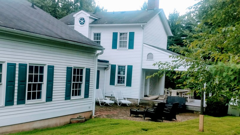 Classic 1740's farmhouse expanded to 3940 sq ft of history and charm.