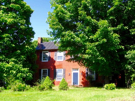 1815 Brick Farmhouse photo