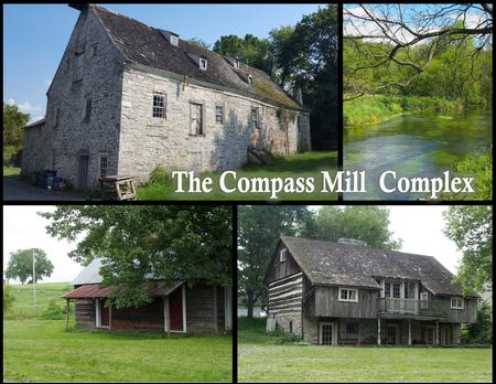 1776 Mill with cottage and cabin photo