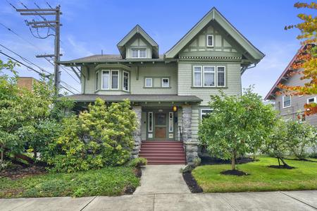 1905 Transitional Shingle Style Craftsman photo