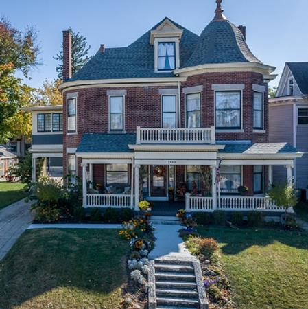 1901 Classic Brick 2 Story Mansion photo