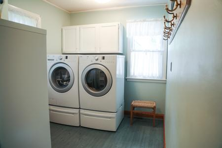 Nice Main Level Laundry Room with Washer & Dryer